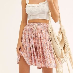 Printed Shifty Skirt - Free People